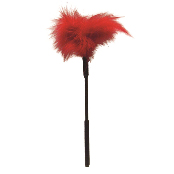 S&M Feather Tickler: Red
