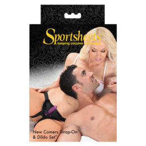 Sportsheets Strap On - New Comers Strap-On and Dildo set