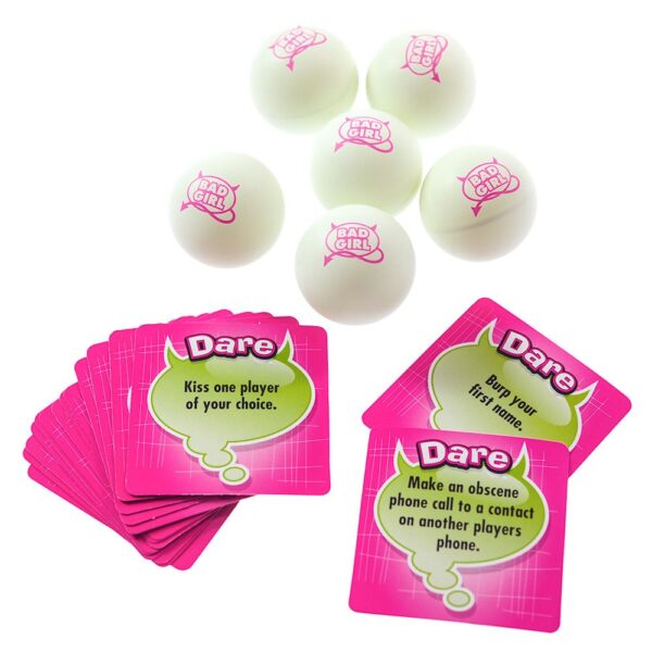 Truth or Dare Bad Girl Party Pong