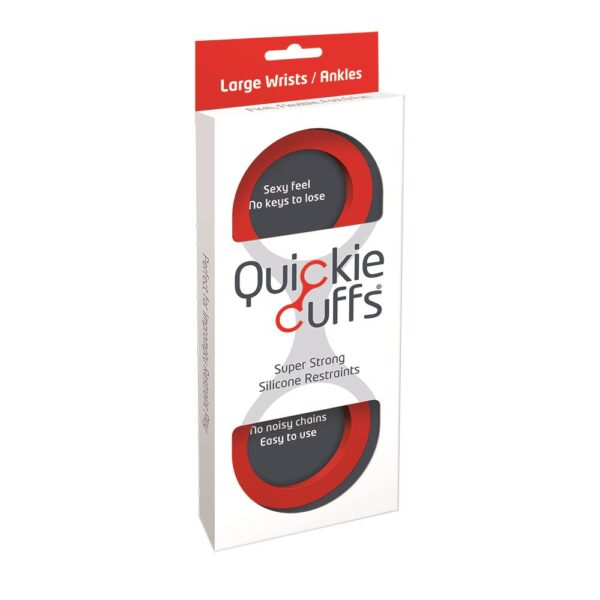 Quickie Cuffs Red (Large)