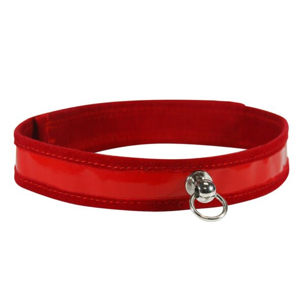 S&M Red Day Collar
