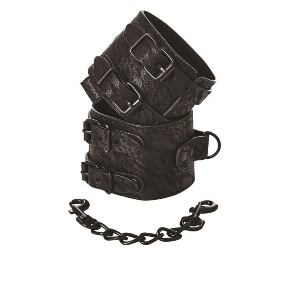Sincerely Lace Double Strap Handcuffs