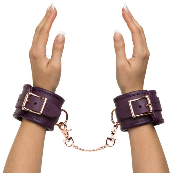 Fifty Shades Freed Cherished Collection Leather Wrist Cuffs