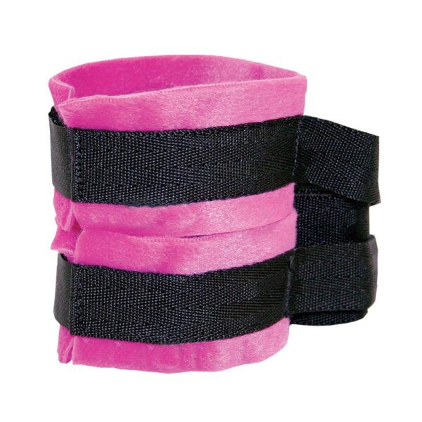 S&M Kinky Pinky Cuffs with Tethers